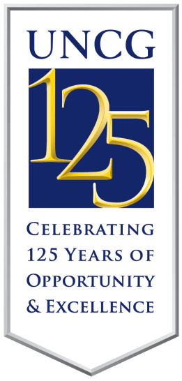 Visit https://125.uncg.edu/ for more information about UNCG's 125th anniversary!